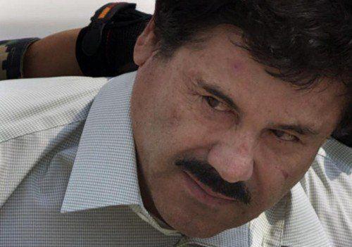 """Drogenboss """"El Chapo"""" ist wieder in Haft."""