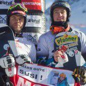 Ein Hundertstel-Krimi der Snowboardcrosser