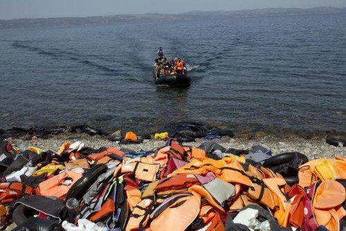Eine Ende des Zustroms ist nach Angaben des Flüchtlingskommissars noch nicht absehbar.