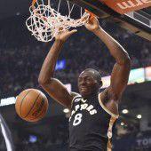 Toronto Raptors feiern neuen Klubrekord