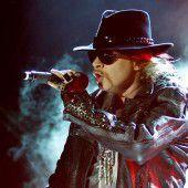 Guns N Roses feiern Comeback