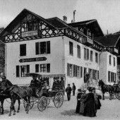 Vorarlberg einst und jetzt. Gasthaus Gütle in Dornbirn