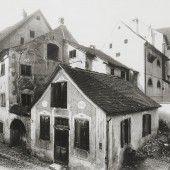 Vorarlberg einst und jetzt. Schlachthaus im Zentrum von Bludenz