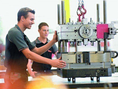 Die Vorarlberger Industriestrategie beginnt zu greifen. Foto: BLUM