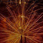 Feuerwerk-Spektakel zum Jahreswechsel
