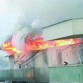 Zigarette auf der Couch sorgt für Wohnungsbrand