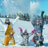 Endlich stellt sich auch in Vorarlberg der Winter ein