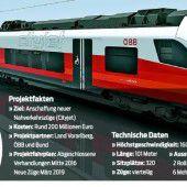Bei neuen Zügen drängt die Zeit