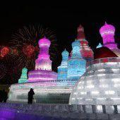 Paläste aus Eis und Schnee