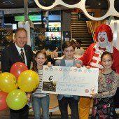 Spende für Ronald McDonald Kinderhilfe