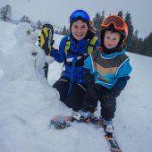 Kleine und große Pistenflitzer freuen sich auf Neuschnee