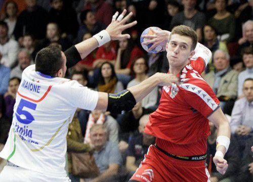 Nikola Bilyk führt mit 33 Treffern die Torschützenliste in der WM-Qualifikation an.