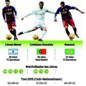 Messi als Favorit für Ballon dOr