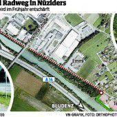 Lückenschluss bei Fahrradweg in Nüziders