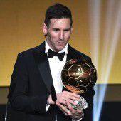 Ballon dOr an Lionel Messi