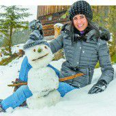 Schneemänner haben in Vorarlberg wieder Saison