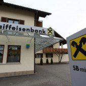 Aus für Raiffeisenbank Nofels
