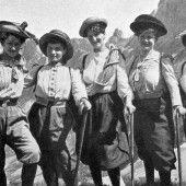 Das größte Hindernis waren die Männer, den alpinen Raum haben sich Frauen aber längst erobert