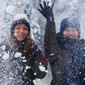 Ab ins Schneetreiben