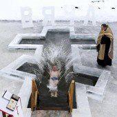 Eiskaltes Bad zum Epiphaniefest