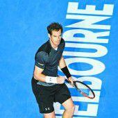 Sechstes Melbourne-Halbfinale für Murray