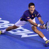 Djokovic überragend
