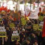 Demos in Wien ohne Zwischenfälle