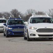 Ford autonom unterwegs