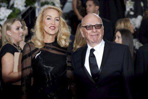 Für die Hochzeit von Rupert Murdoch und Jerry Hall ist noch kein Daum bekannt.