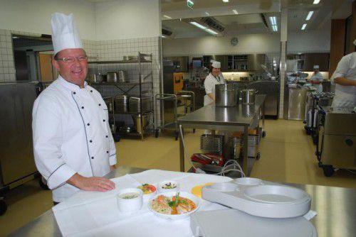 Gerhard Jurovic und sein Team haben rund 67.000 Essen zubereitet.