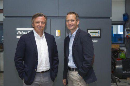 Geschäftsführer Vjekoslav Dup (l.) und Marketing- und Verkaufsleiter Rainer Klement.