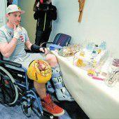Max Franz ist schon für die Rehabilitation bereit