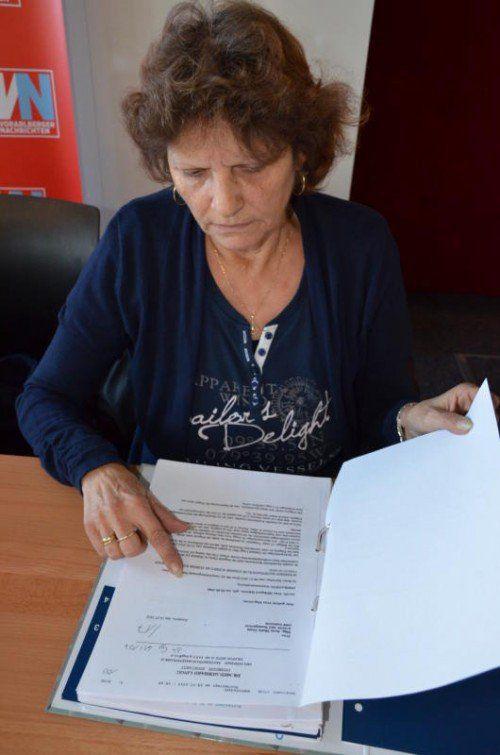 Hildegard S. hat die PVA geklagt, nachdem ihr Antrag auf Berufsunfähigkeitspension abgelehnt wurde.