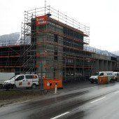 Bau an neuem Feuerwehrhaus schreitet voran