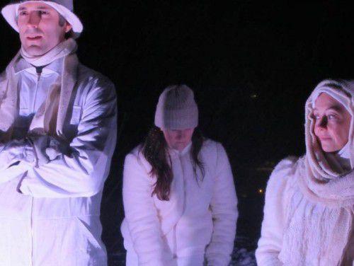"""Im Rahmen der Ausstellung """"Ich, am Gipfel. Eine Frauenalpingeschichte"""" findet am Freitag die Premiere des Stücks """"Kaltes Land"""" des Schweizer Dramatikers Reto Finger statt."""