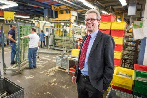 Im vergangenen Jahr wurde Johannes Collini (Collini Holding, Hohenems) mit dem VN-Wirtschaftspreis ausgezeichnet.