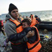 Mehr als 40 Tote bei Untergang von Flüchtlingsbooten in der Ägäis