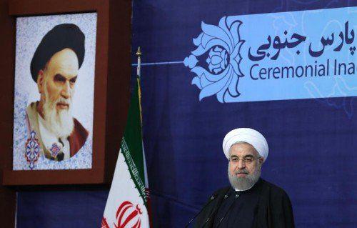 Irans Präsident Rohani will nächste Woche Frankreich und Italien bereisen.
