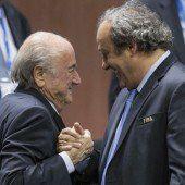 Platini rüstet zum Gegenschlag