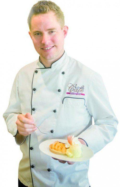 Jurymitglied und Konditormeister Paul Piringer vom Café Konditorei König in Lustenau freut sich schon auf Ihre Rezepte.