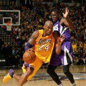 Meilenstein bei Niederlage von Kobe Bryant