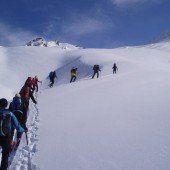Sicher im freien Skiraum