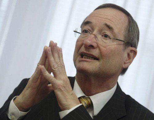 Wirtschaftskammerpräsident Christoph Leitl fordert eine Senkung der Körperschaftsteuer. Foto: Reuters