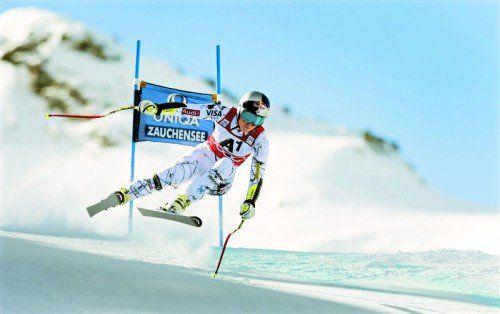 Lindsey Vonn egalisierte in der Abfahrt von Zauchensee den Rekord von Annemarie Moser-Pröll und gewann auch den Super-G.
