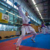 Karatekas holten sich im Montafon ersten Schliff