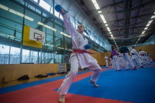 Maja Maksimovic machte das Training sichtlich Spaß.