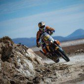 Top drei bei der Dakar ist Traum