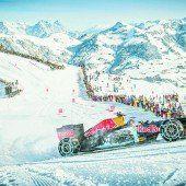 Formel 1 mit Schneeketten