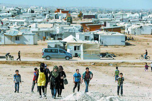 Menschen auf der Flucht sollten möglichst nahe ihrer Heimat Schutz und Hilfe gewährt werden können.
