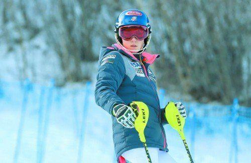 Mikaela Shiffrin muss diese Woche zur Untersuchung – und hofft auf eine Weltcup-Rückkehr Ende des Monats.